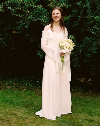 Medieval Style Wedding Gown